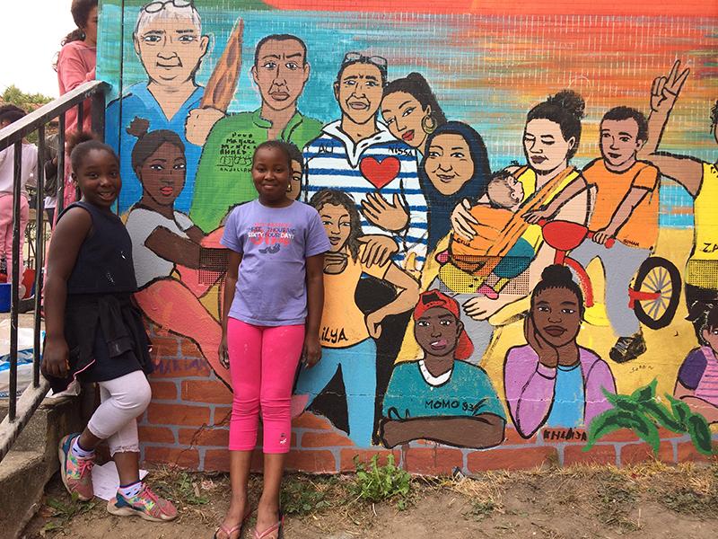 Fresque Participative du Quartier NORD