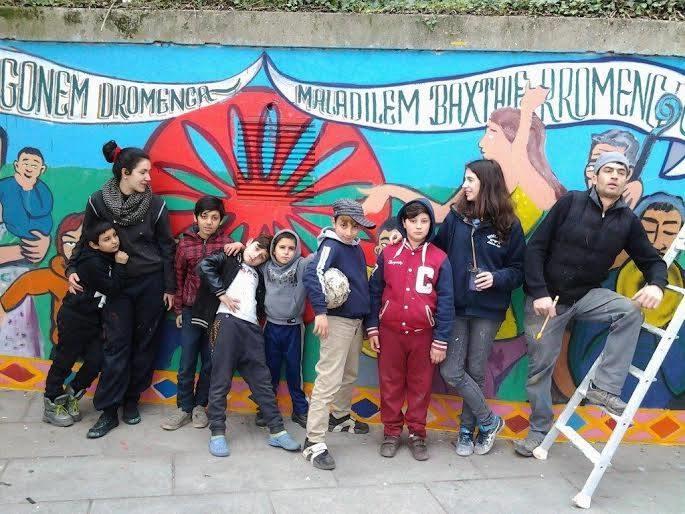 JSD Roms : Une fresque contre les préjugés à la gare de Saint-Denis