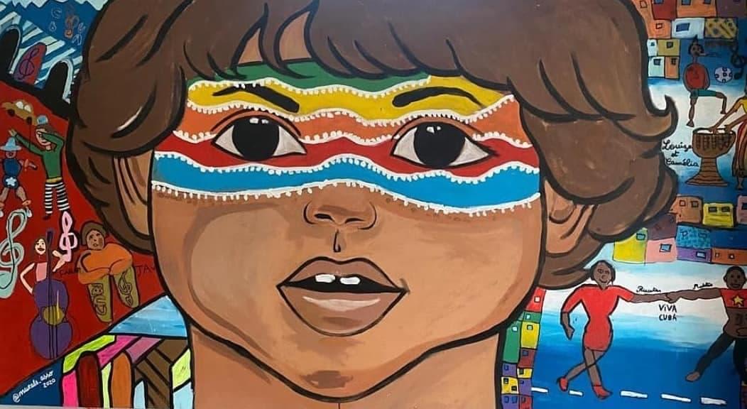 Fresques participatives, école Jules Guesdes, Argenteuil