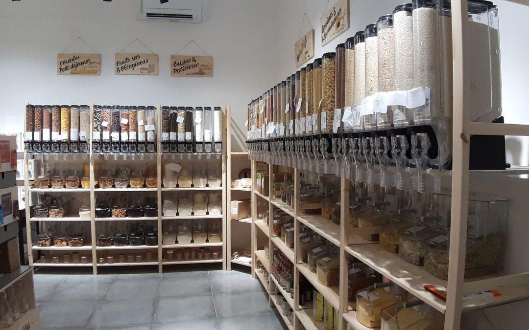 L'Ilot gramme, épicerie écologique et solidaire